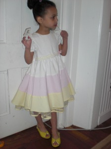 Rhema on Easter 2009. Check out those shoes!