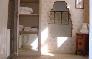 The hiding place in Corrie ten Boom's room