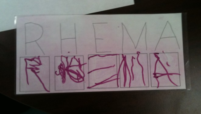 rhema_writes_name